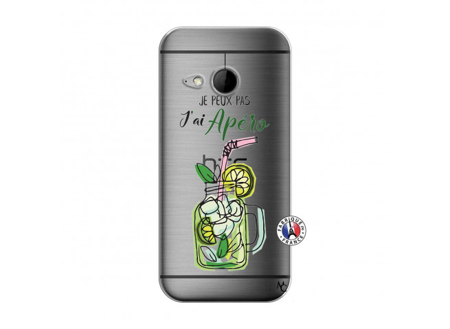 Coque HTC ONE Mini M8 Je peux pas J'ai Apéro