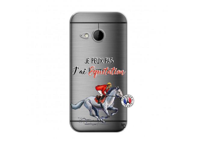 Coque HTC ONE Mini M8 Je Peux Pas J Ai Equitation