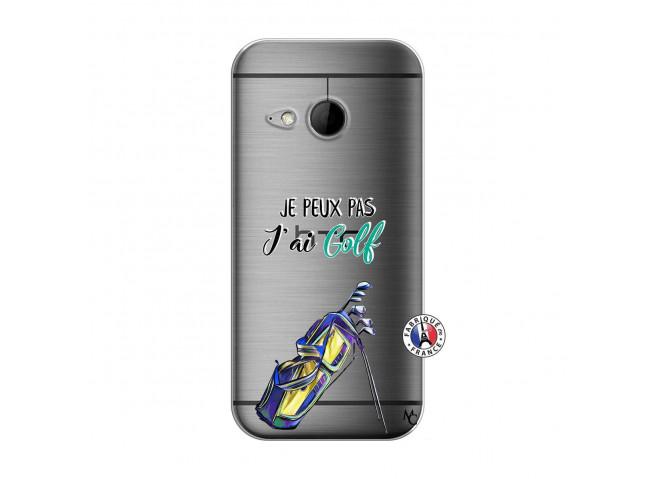 Coque HTC ONE Mini M8 Je Peux Pas J Ai Golf