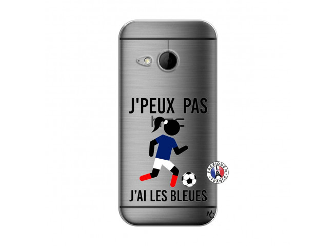 Coque HTC ONE Mini M8 Je Peux Pas J Ai Les Bleues
