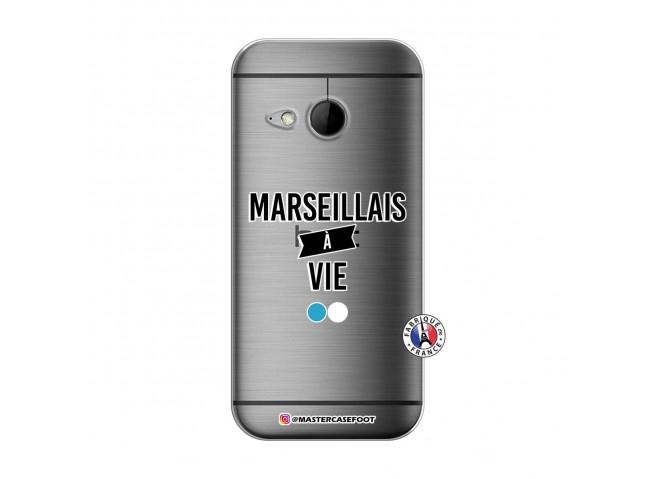 Coque HTC ONE Mini M8 Marseillais à Vie