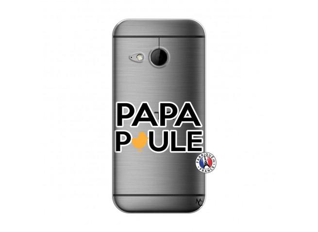 Coque HTC ONE Mini M8 Papa Poule