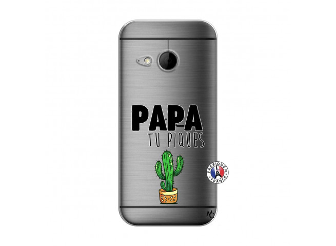 Coque HTC ONE Mini M8 Papa Tu Piques