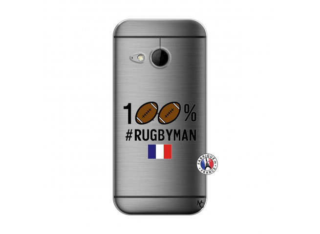 Coque HTC ONE Mini M8 100% Rugbyman