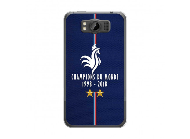 Coque Htc Titan Champions Du Monde 1998 2018 Transparente