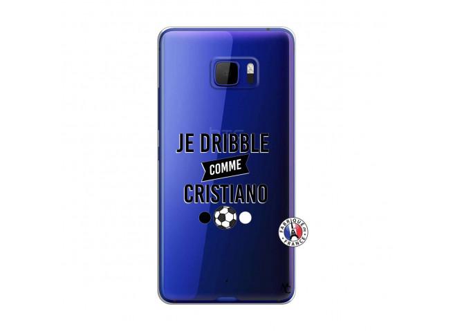 Coque HTC U Play Je Dribble Comme Cristiano