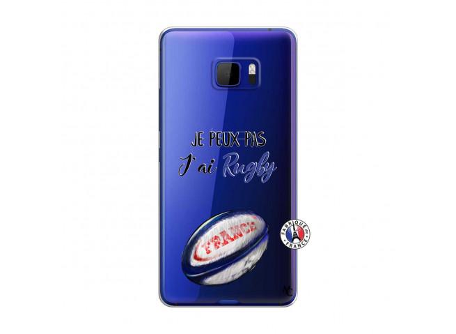 Coque HTC U Play Je Peux Pas J Ai Rugby