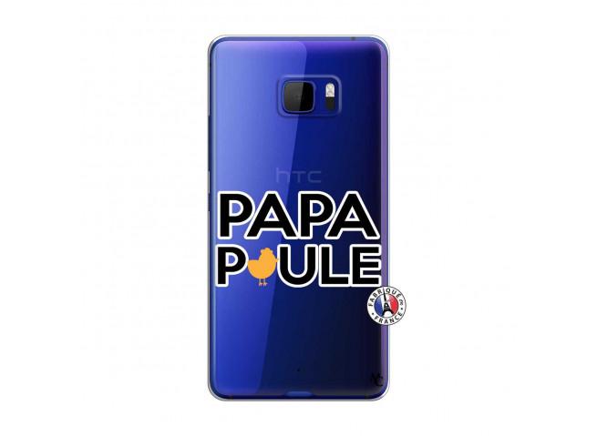 Coque HTC U Play Papa Poule