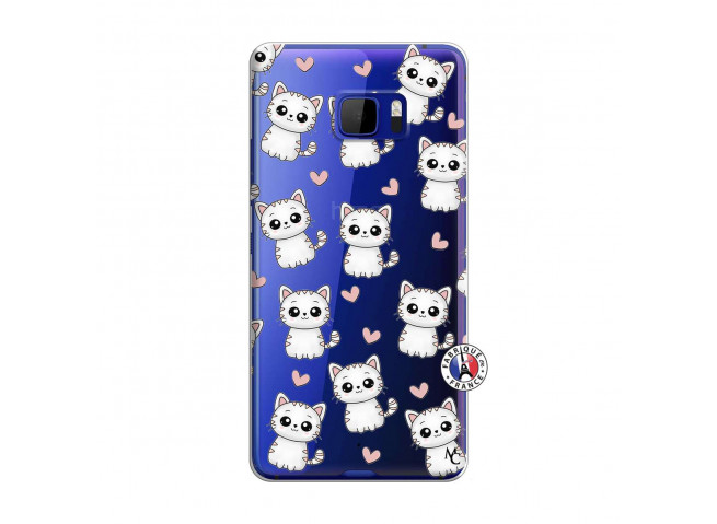 Coque HTC U Play Petits Chats