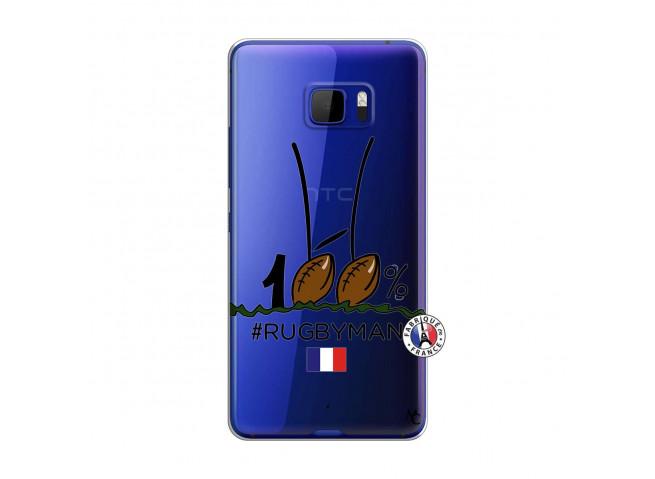 Coque HTC U Play 100 % Rugbyman Entre les Poteaux