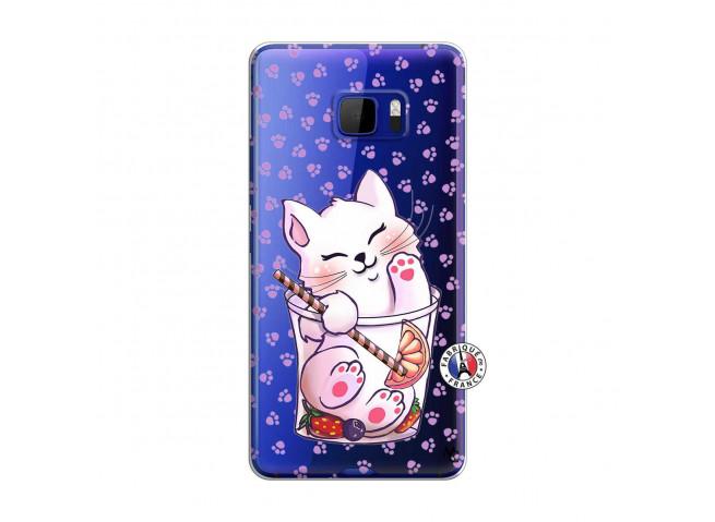 Coque HTC U Play Smoothie Cat