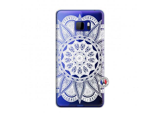 Coque HTC U Play White Mandala