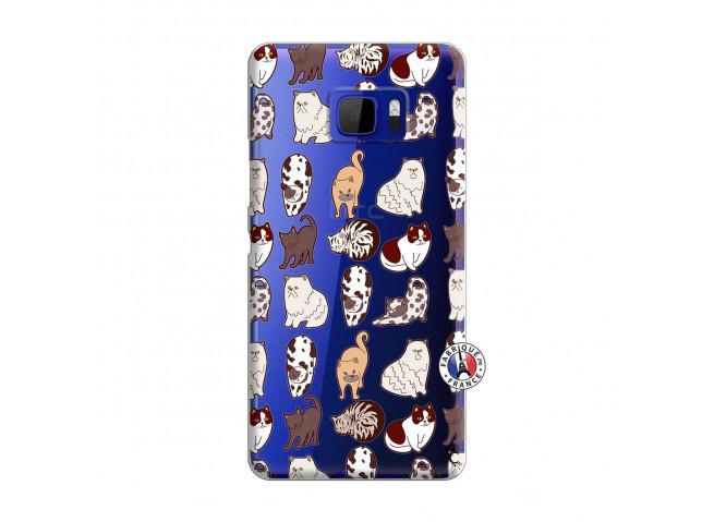 Coque HTC U Ultra Cat Pattern