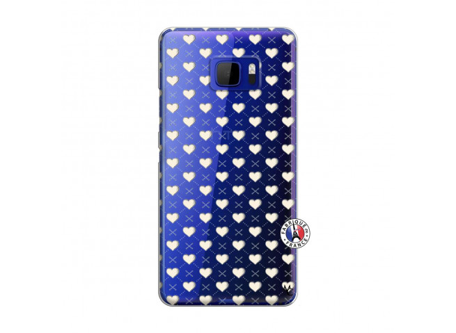 Coque HTC U Ultra Little Hearts