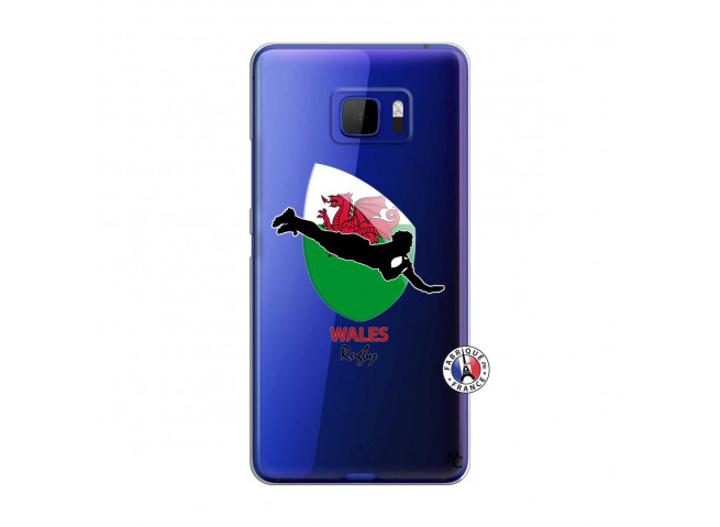 Coque HTC U Ultra Coupe du Monde Rugby-Walles