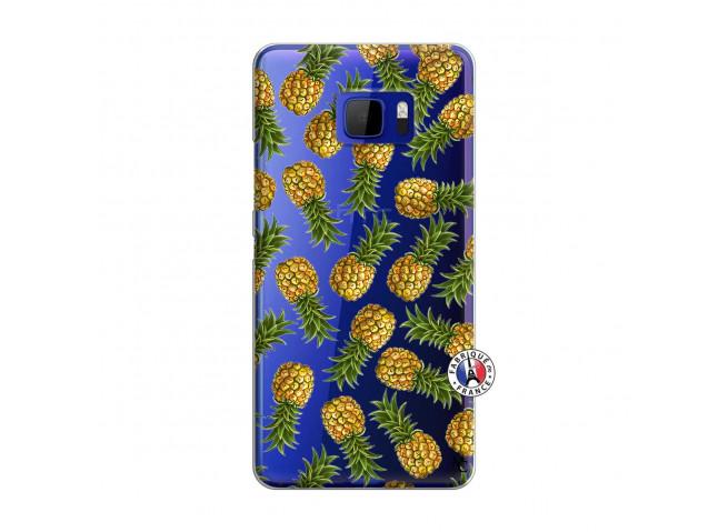 Coque HTC U Ultra Ananas Tasia