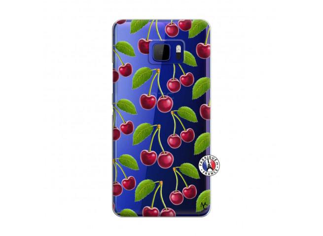 Coque HTC U Ultra oh ma Cherry