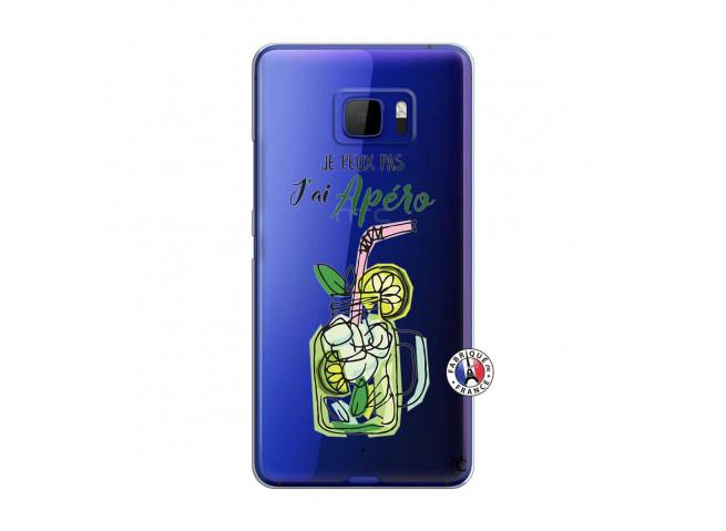 Coque HTC U Ultra Je peux pas J'ai Apéro