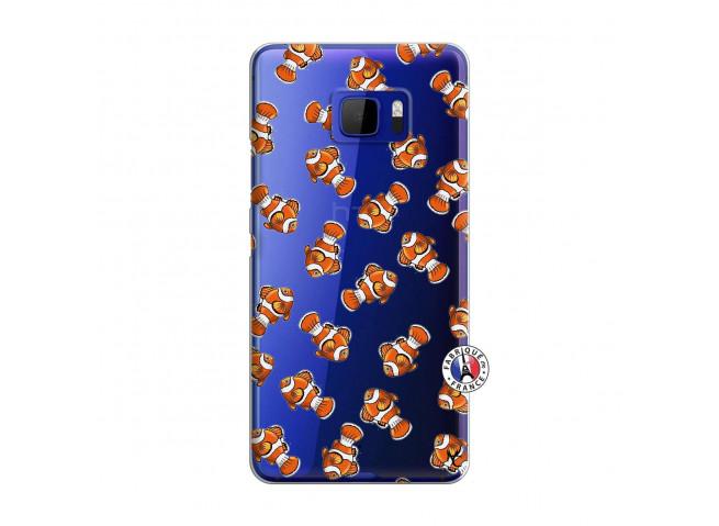 Coque HTC U Ultra Petits Poissons Clown