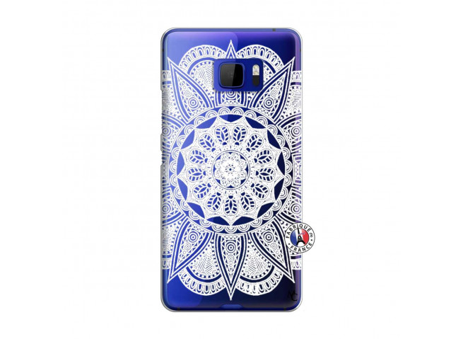 Coque HTC U Ultra White Mandala