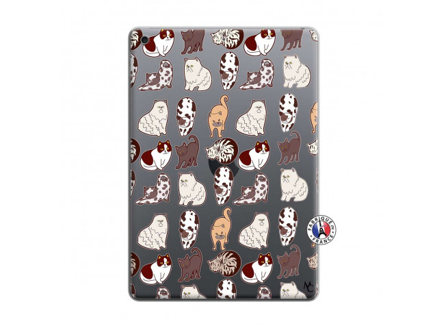 Coque iPad 10.2 Cat Pattern