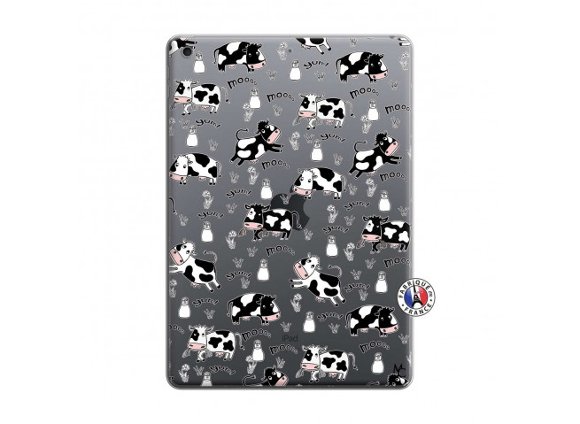 Coque iPad 10.2 Cow Pattern