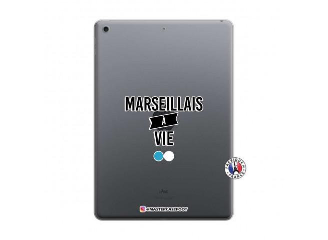 Coque iPad 10.2 Marseillais à Vie