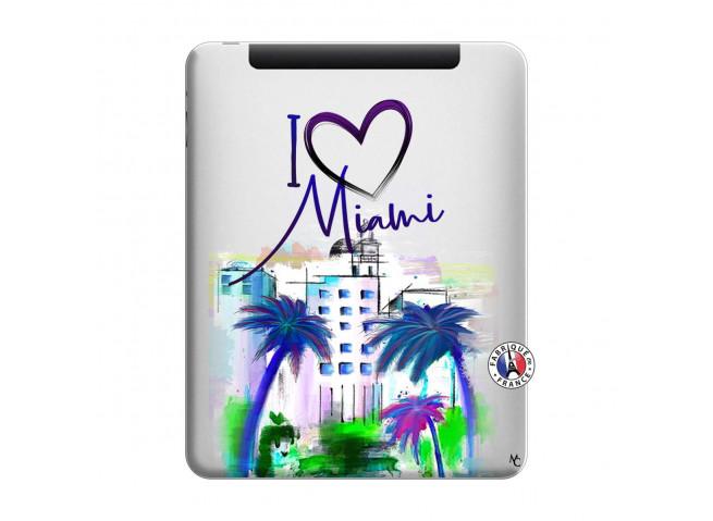 Coque iPad 1 I Love Miami