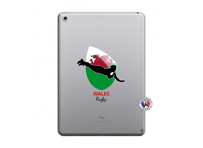 Coque iPad 2018/2017 Coupe du Monde Rugby-Walles