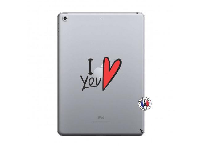 Coque iPad 2018/2017 I Love You