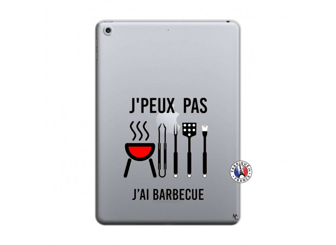 Coque iPad 2018/2017 Je Peux Pas J Ai Barbecue