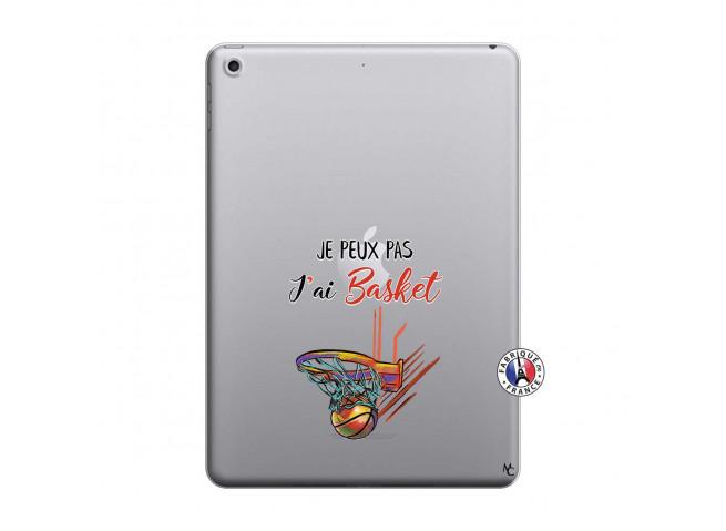 Coque iPad 2018/2017 Je Peux Pas J Ai Basket