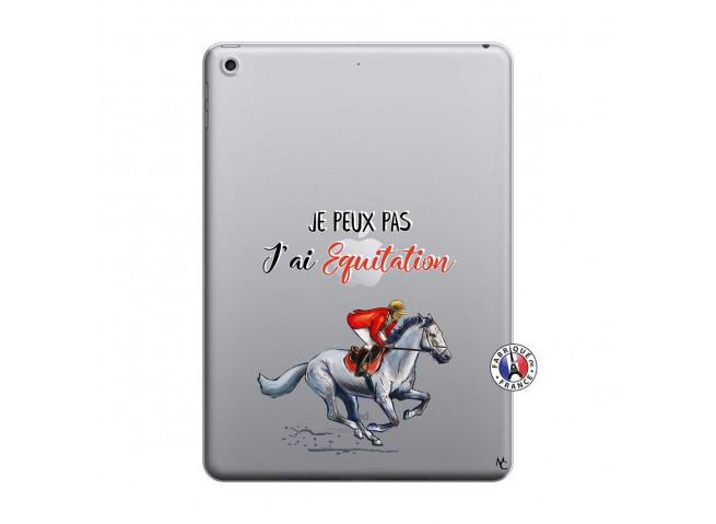 Coque iPad 2018/2017 Je Peux Pas J Ai Equitation