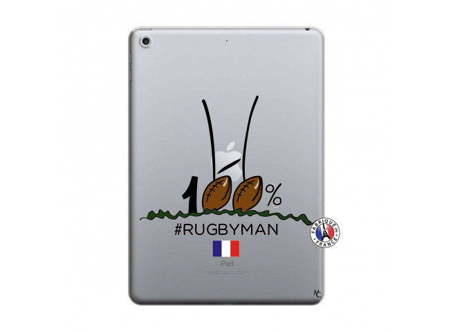 Coque iPad 2018/2017 100 % Rugbyman Entre les Poteaux