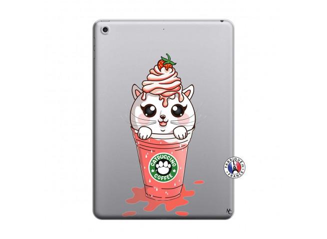 Coque iPad 2018/2017 Catpucino Ice Cream