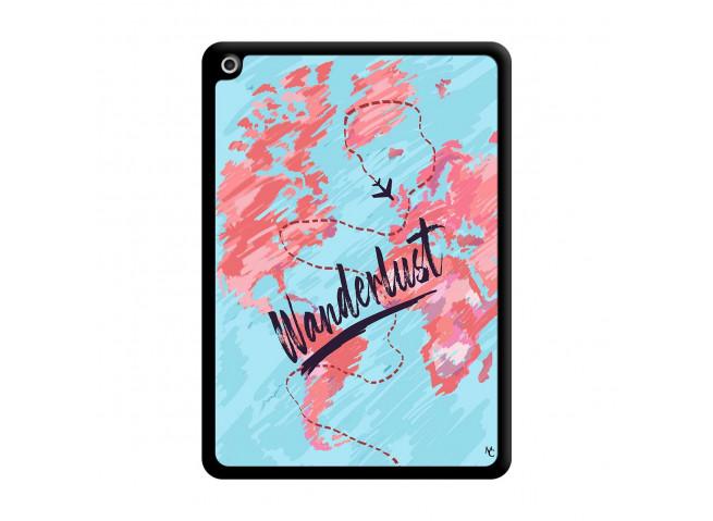 Coque iPad 2018/2017 Wanderlust Noir