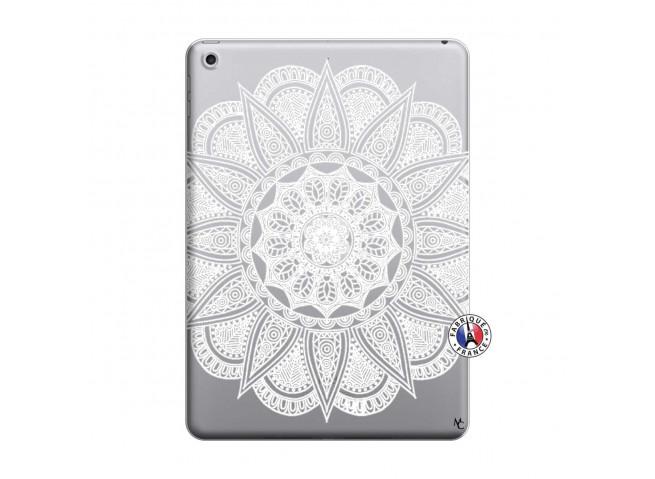 Coque iPad 2018/2017 White Mandala