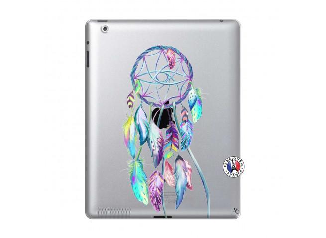 Coque iPad 2 Blue Painted Dreamcatcher