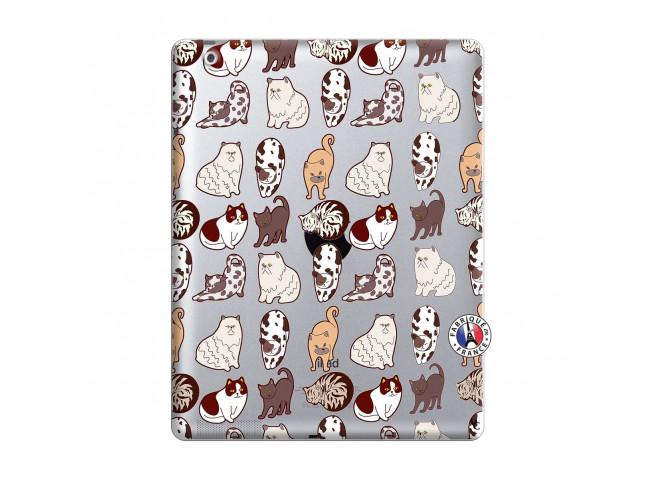 Coque iPad 2 Cat Pattern