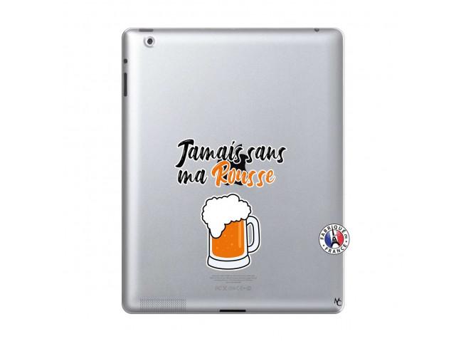Coque iPad 2 Jamais Sans Ma Rousse