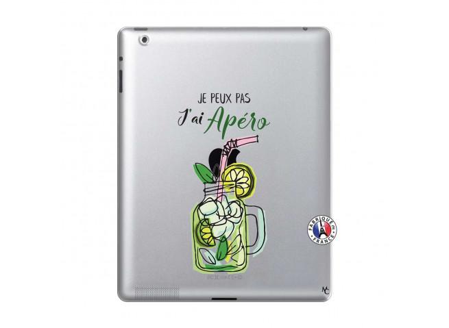 Coque iPad 2 Je peux pas J'ai Apéro