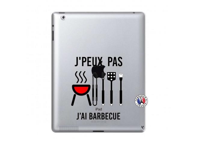 Coque iPad 2 Je Peux Pas J Ai Barbecue