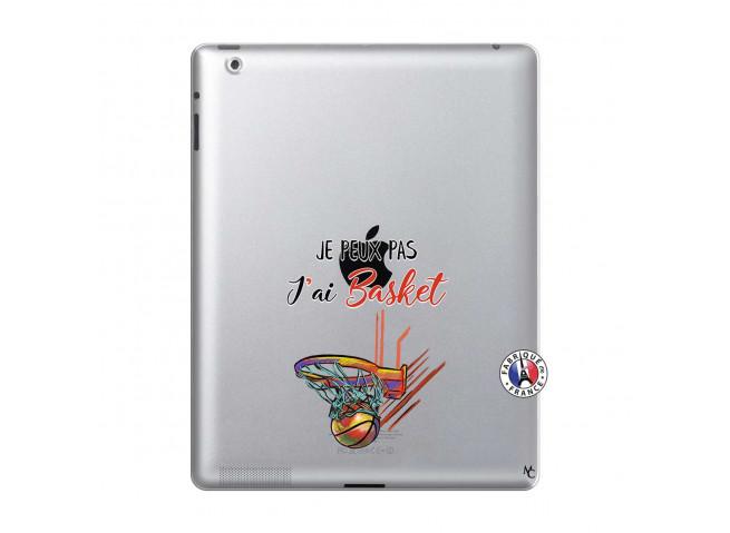 Coque iPad 2 Je Peux Pas J Ai Basket