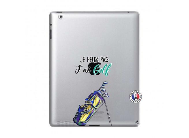 Coque iPad 2 Je Peux Pas J Ai Golf