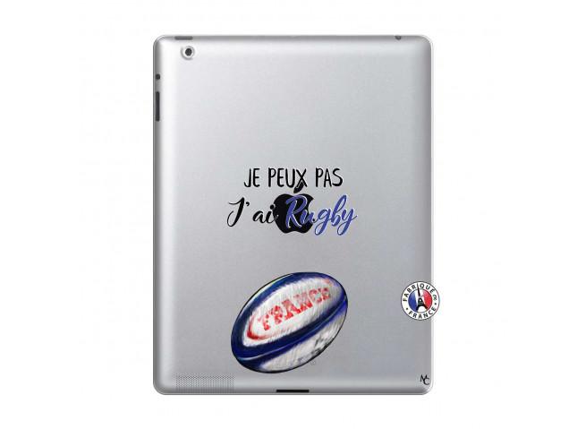 Coque iPad 2 Je Peux Pas J Ai Rugby