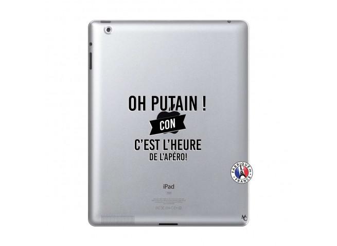 Coque iPad 2 Oh Putain C Est L Heure De L Apero