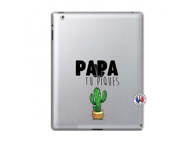 Coque iPad 2 Papa Tu Piques