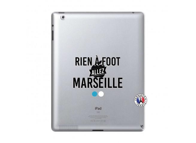 Coque iPad 2 Rien A Foot Allez Marseille