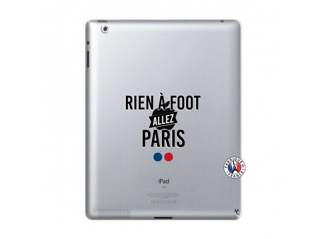 Coque iPad 2 Rien A Foot Allez Paris