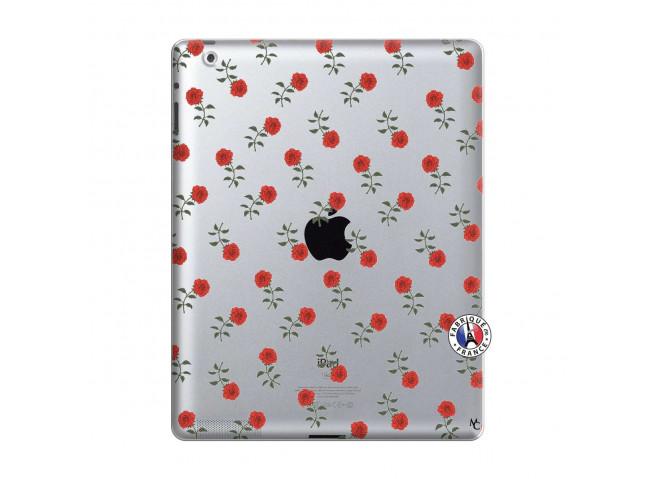 Coque iPad 2 Rose Pattern